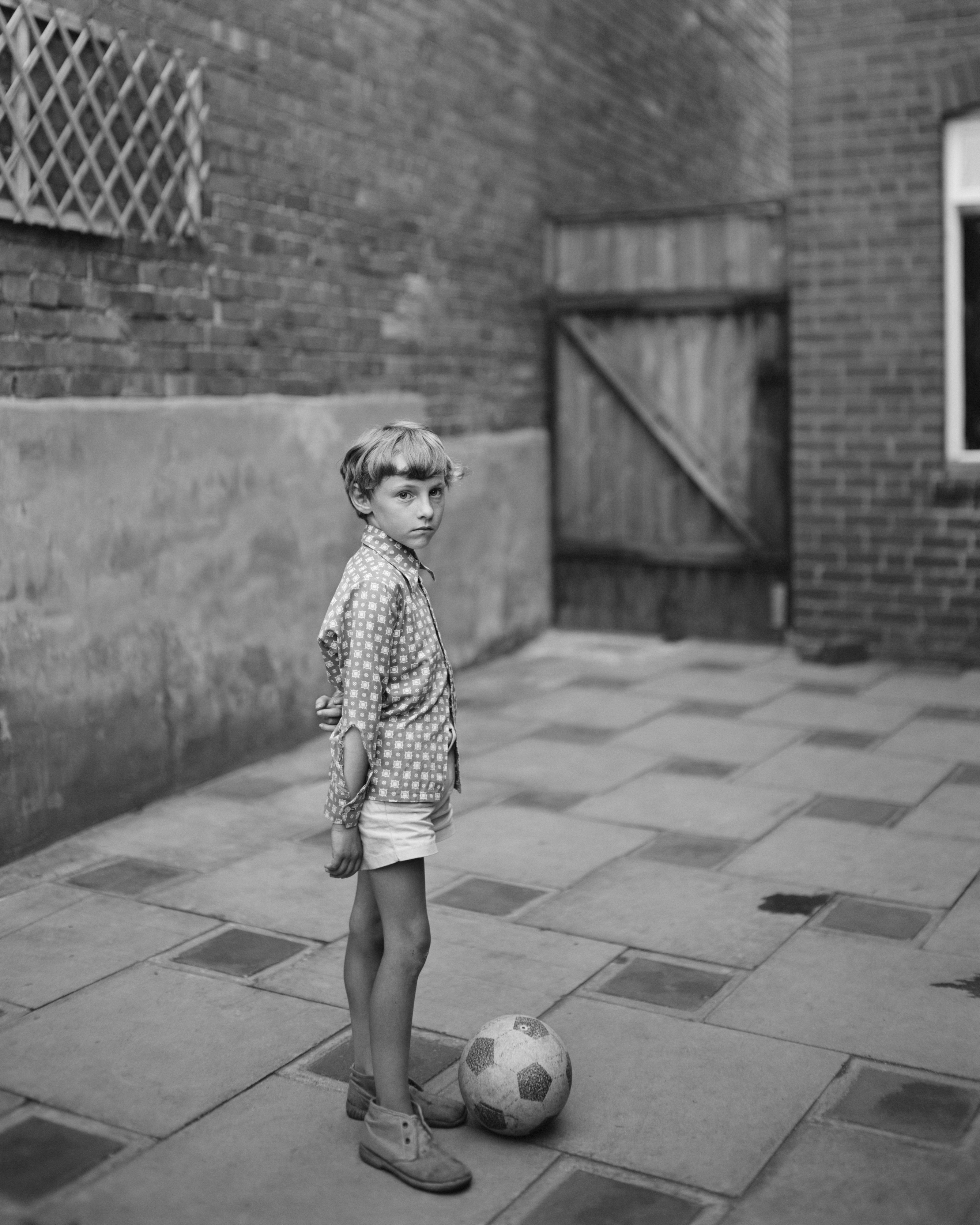 Boy with Ball, 1974